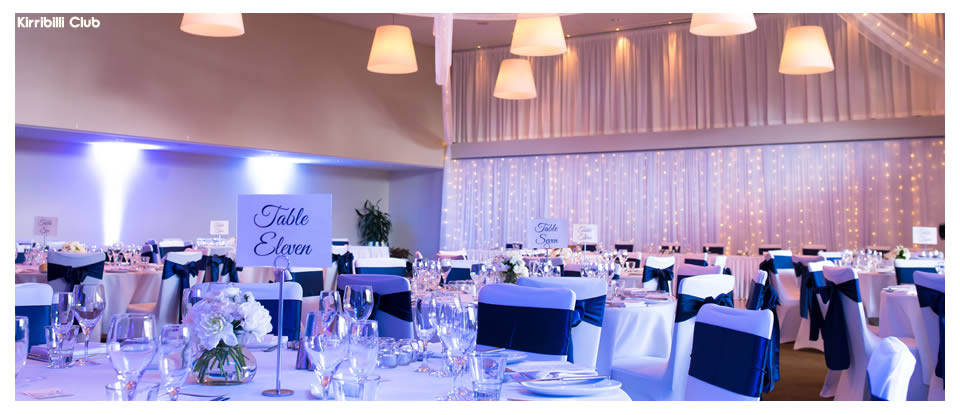 Kirribilli Club Conference Venue Hire Weddings