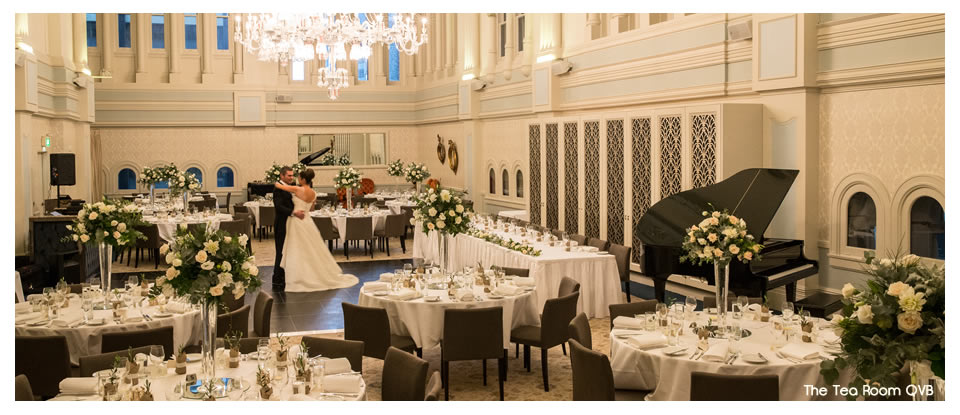The Tea Room Qvb Ballroom Hire Weddings Parties