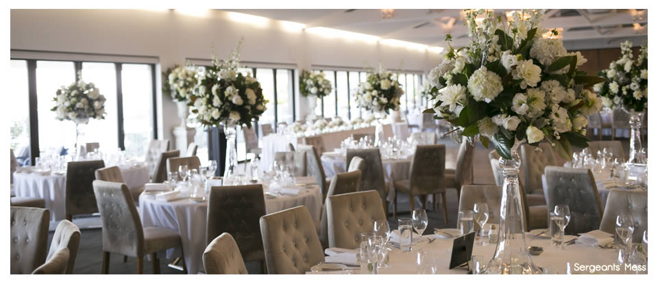 Sergeants Mess Private Dining Room Wedding Venue Hire